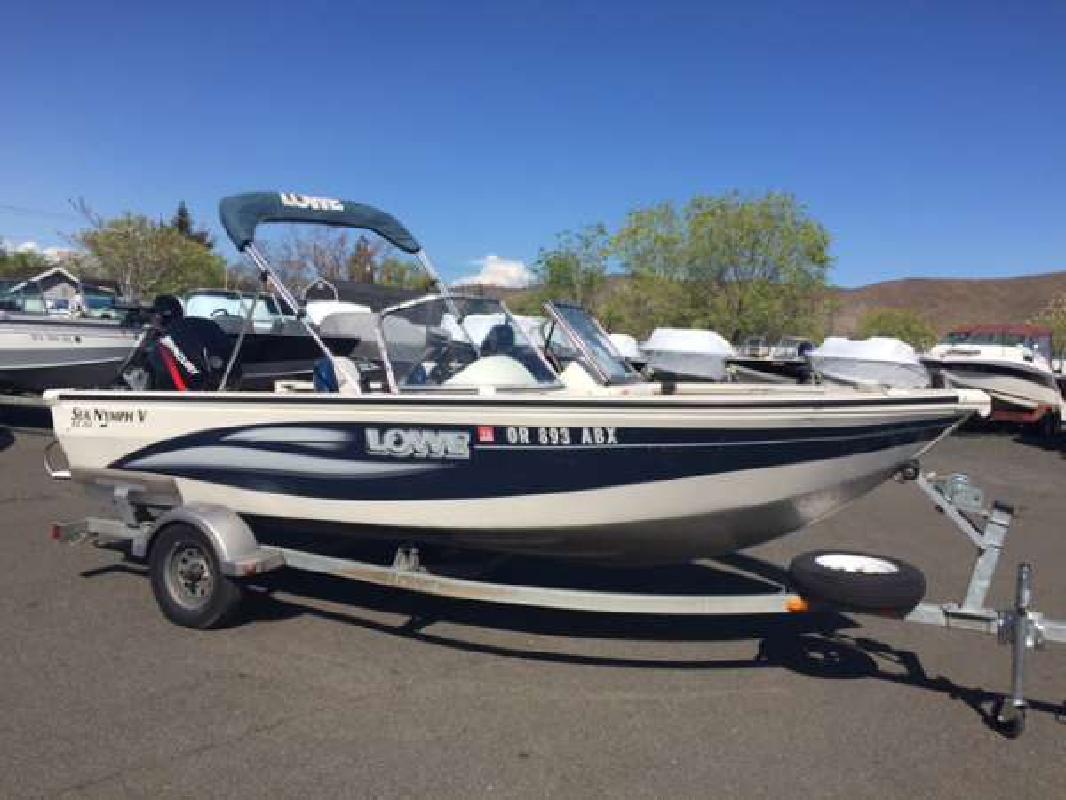 2004 lowe fs 165 sea nymph yakima wa for sale in yakima for Betterall motors yakima wa