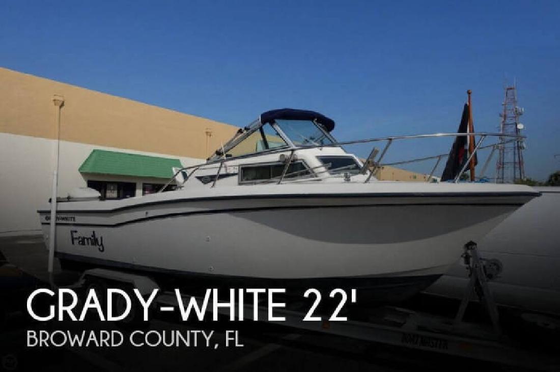 1988 Grady-White Boats 228 Seafarer Pompano Beach FL