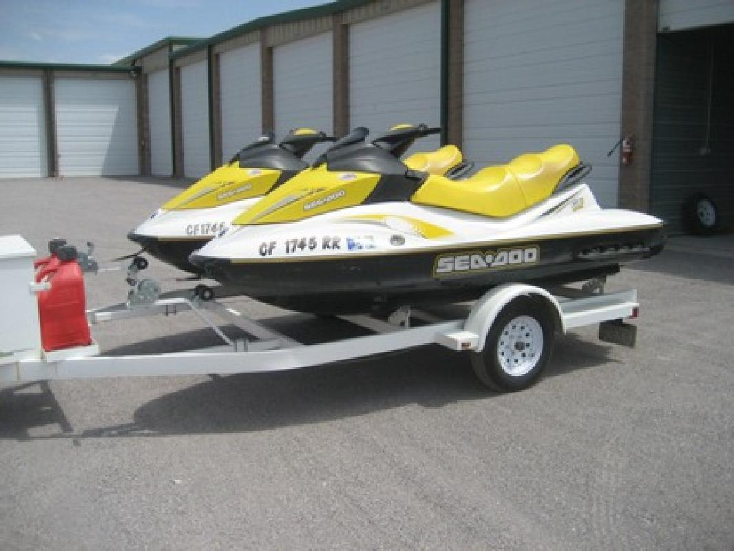 $2,800 2006 GTI Seadoo (3 seater) + trailer
