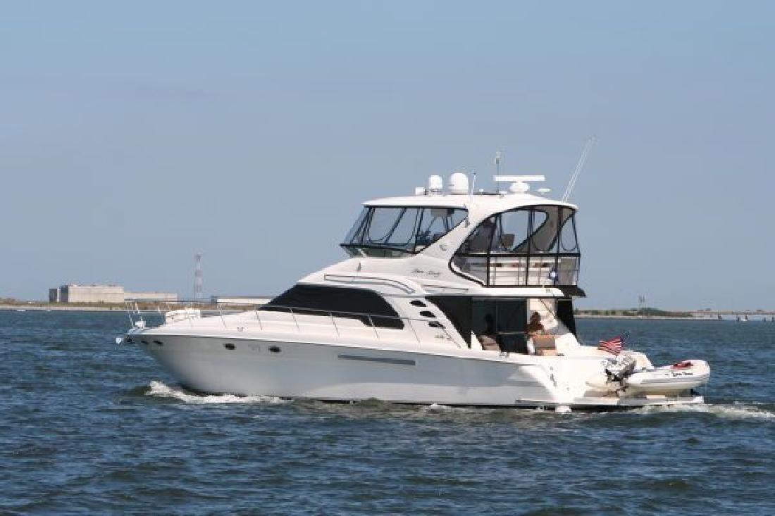 2001 Sea Ray Boats 560 Sedan Bridge Delray Beach FL