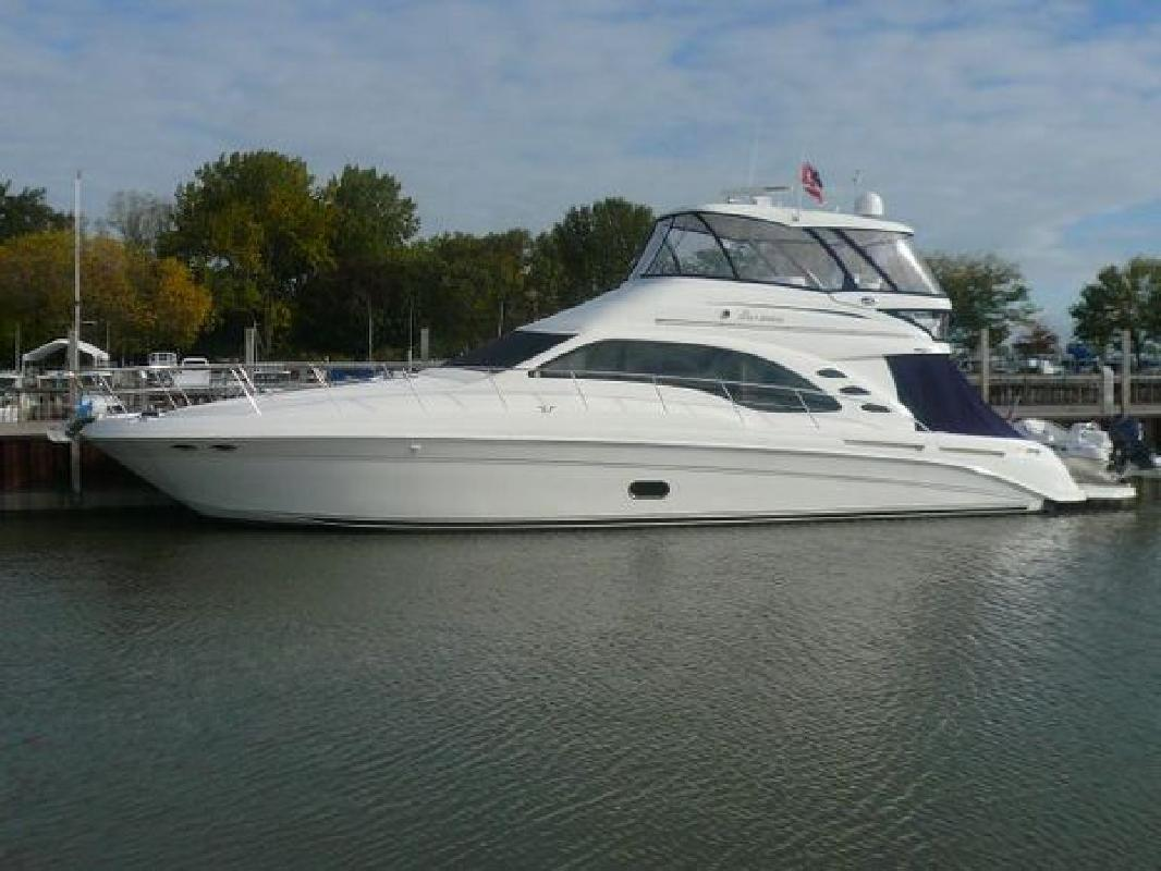 2007 Sea Ray Boats 58 Sedan Bridge Delray Beach FL