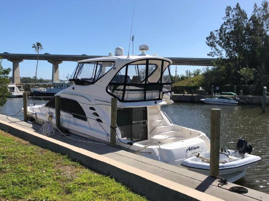 1999 Sea Ray Boats 56 Sedan Bridge Delray Beach FL