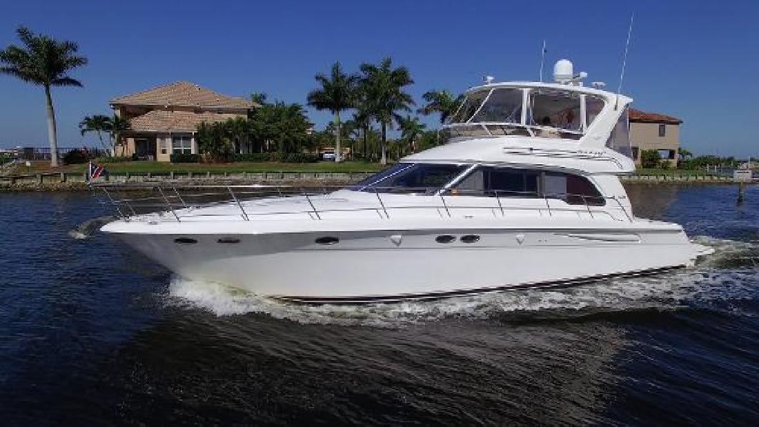 2000 Sea Ray 480 Sedan Bridge Palmetto FL