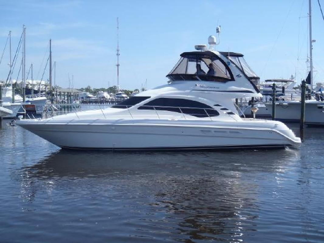 2004 Sea Ray 420 Sedan Bridge Stuart FL
