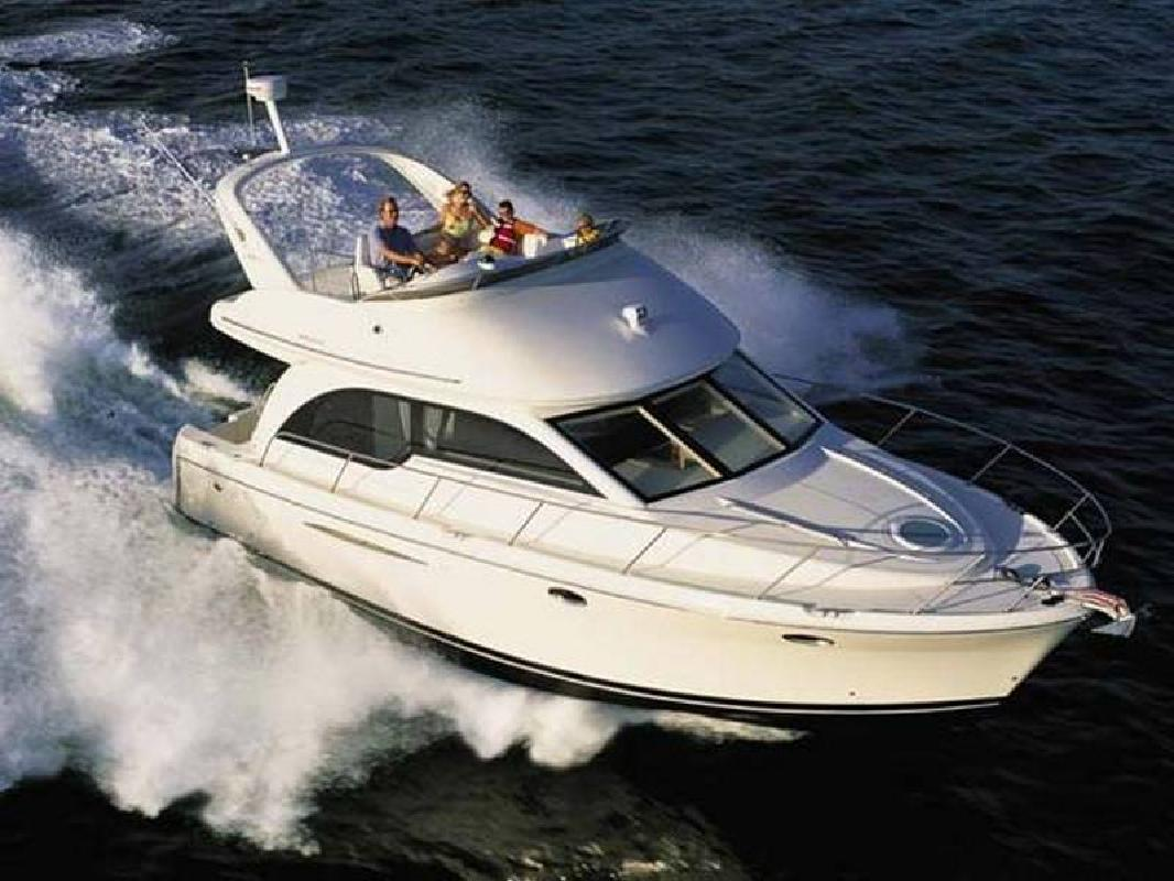 2005 38' Meridian 381 Sedan Flybridge Motor Yacht. Contact the seller