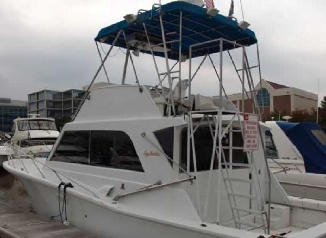 1975 egg harbor sedan freeport tx for sale in freeport for Freeport fishing boats