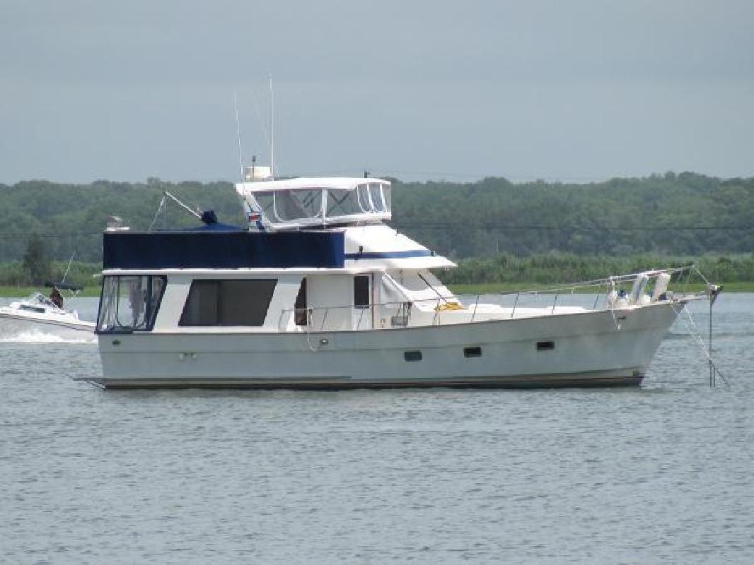 1987 Golden Star 46 Sedan Trawler Annapolis MD