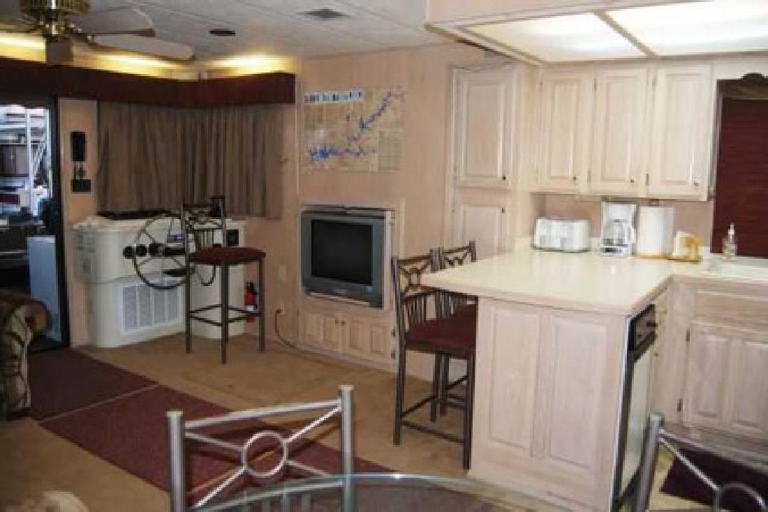 $13,600 1996 Lakeview Yacht Houseboat, 55'X15'-1/12th Share (Bullfrog Marina Covered