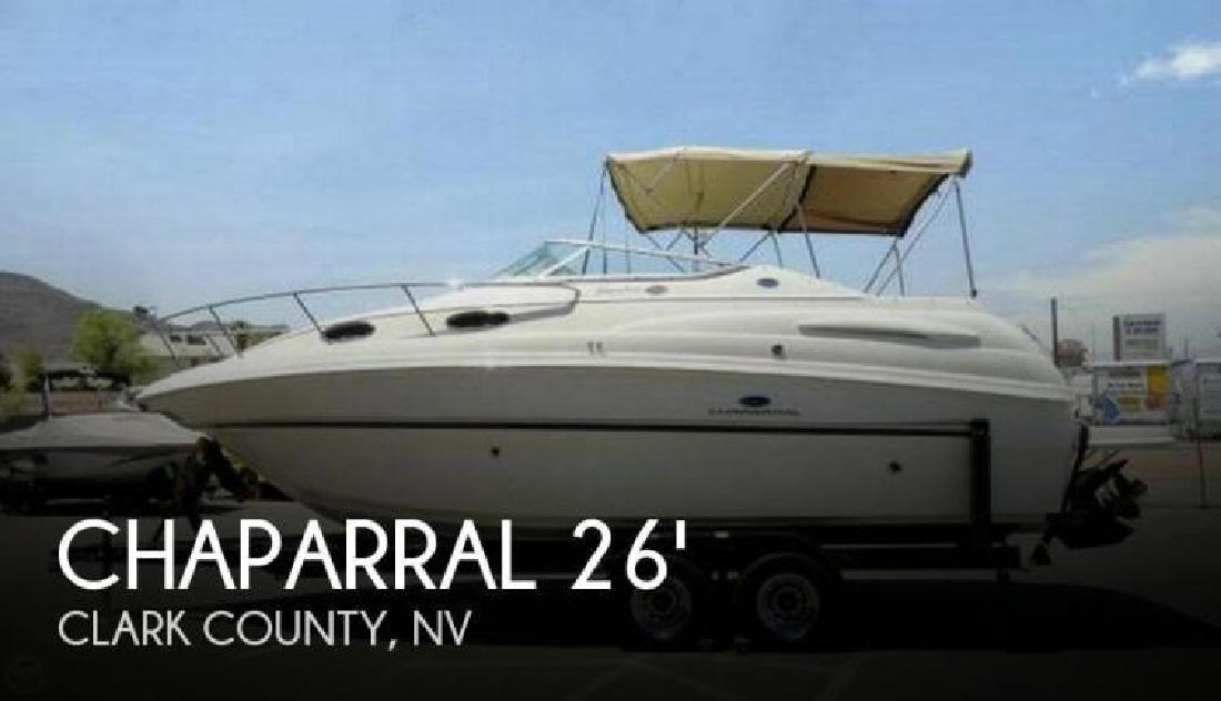 2005 Chaparral Boats 260 Signature Boulder City NV