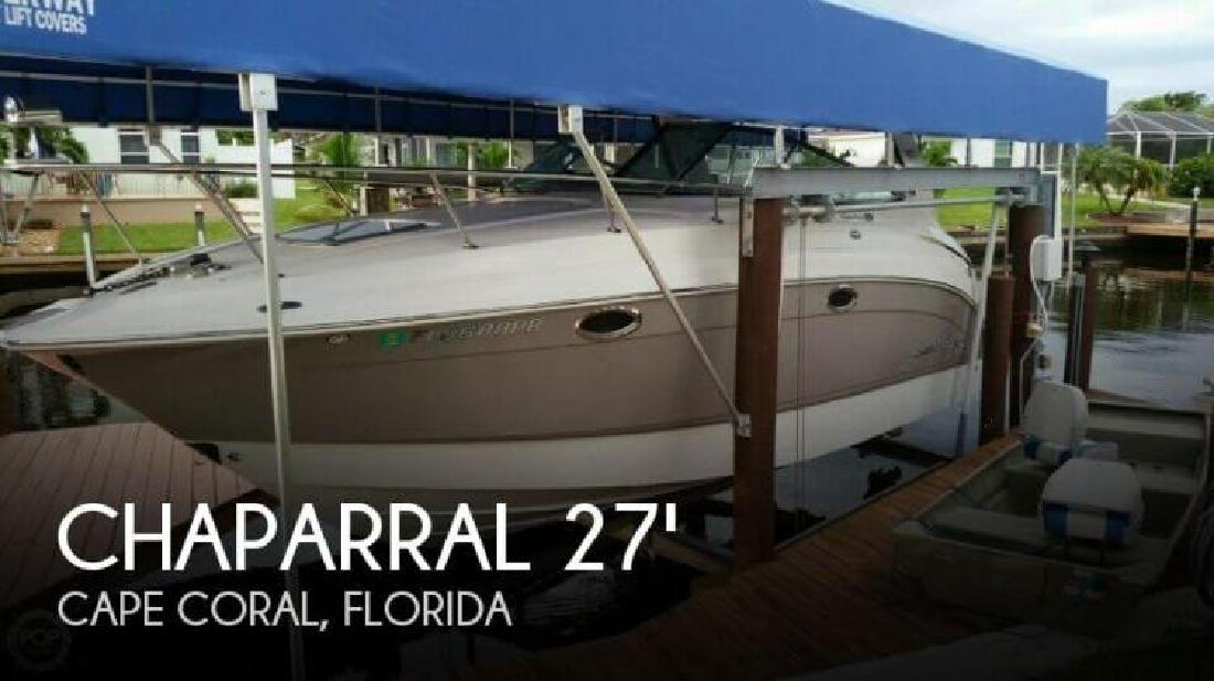 2007 Chaparral Boats 270 Signature Cape Coral FL