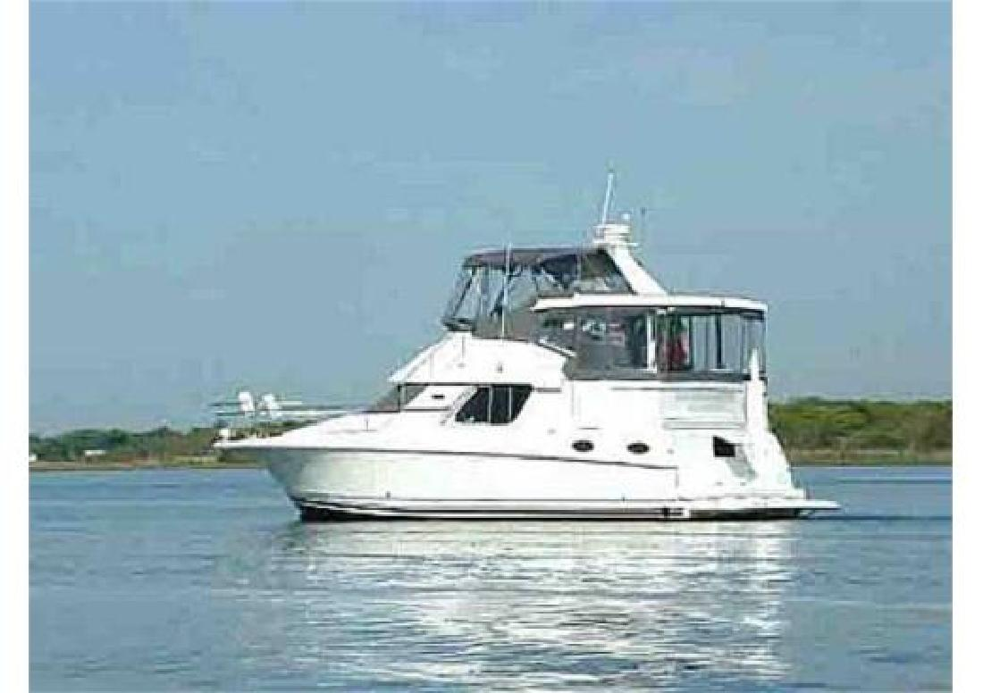 1998 37 39 silverton cruiser for sale in center moriches for Moriches boat and motor