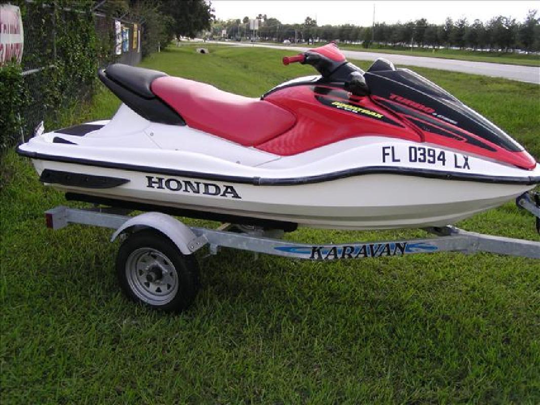 Honda Jet Ski >> 2002 9 Honda Jet Ski F 12 Turbo Aquatrax For Sale In