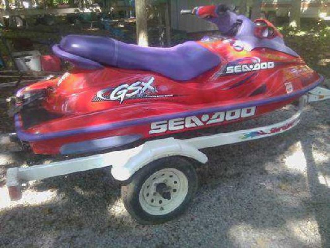 $2,800 For Sale: 1998 GSX Limited Jet Ski, Trailer & Accessories-$2800.00 O.