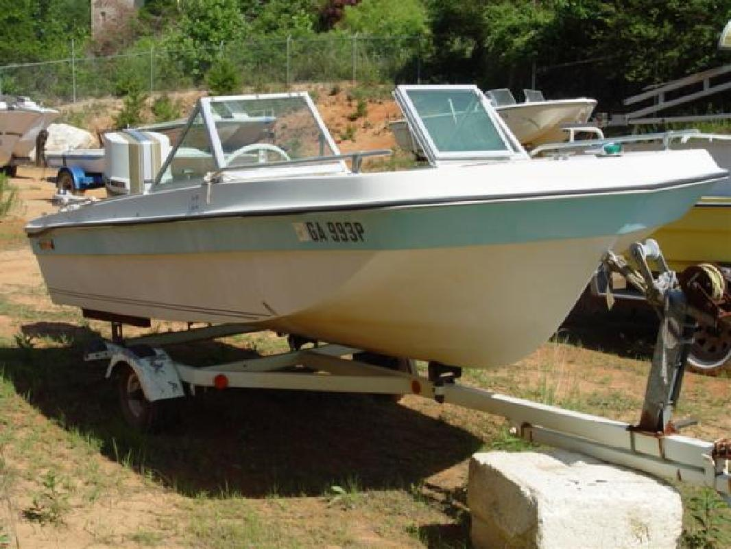 1972 15 U0026 39  Other 15 Fish N Ski Trihull Bowrider Chrysler 70