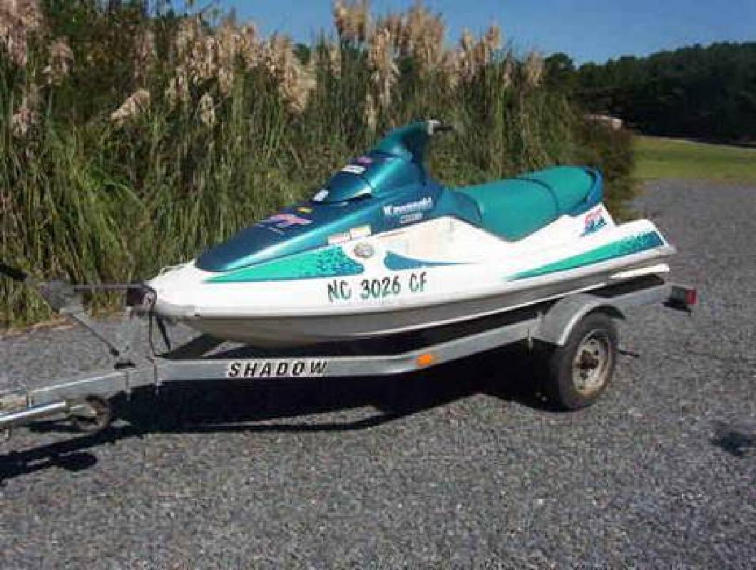 Kawasaki 750 St 3 Person Jet Ski with Trailor, $1,000 Firm for sale