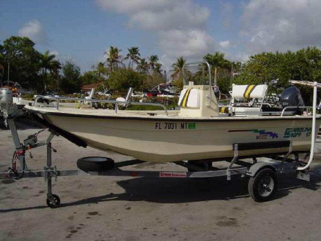 2005 16' Carolina Skiff 1765 Semi-V