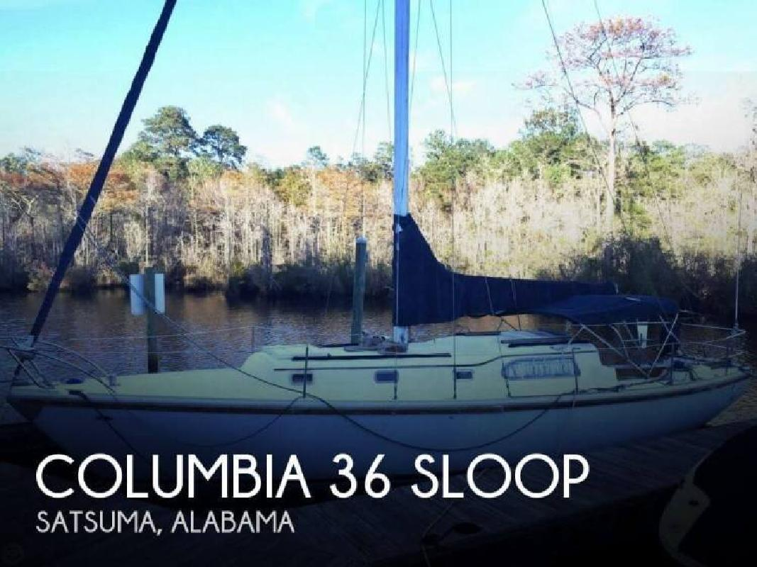 1968 Columbia 36 Sloop Satsuma AL