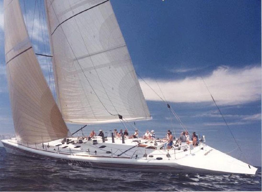1996 100' A Custom Sloop Ultra-Fast Cruising
