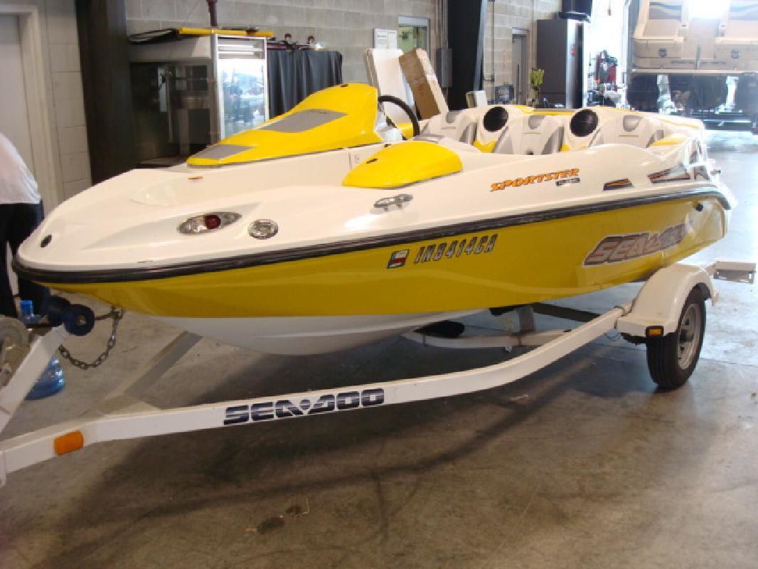 2004 15' Sea Doo Sport Boat SPORTSTER 4-TEC