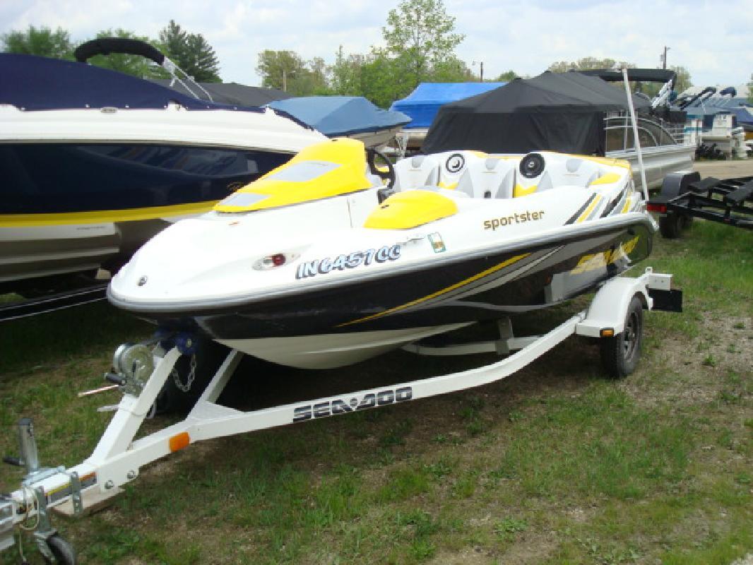 2005 15' Sea Doo Sport Boat Sportster 4-TEC