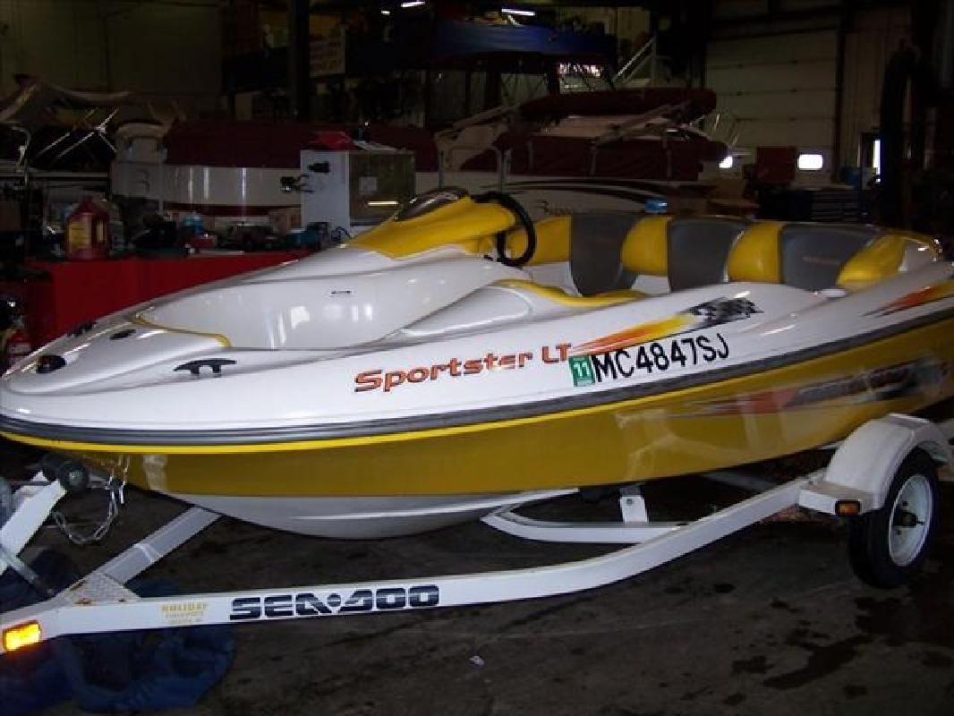 2002 15 Sea Doo Sport Boat Sportster LT For Sale In Howell