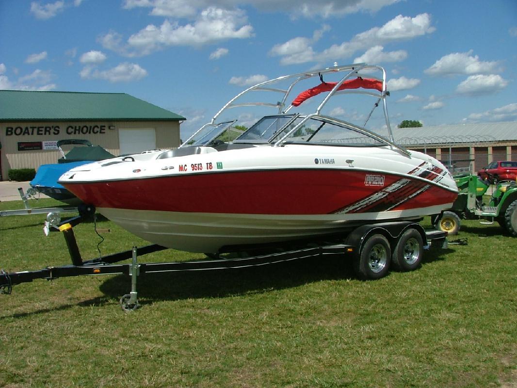 2008 21 Yamaha Sport Boats AR210