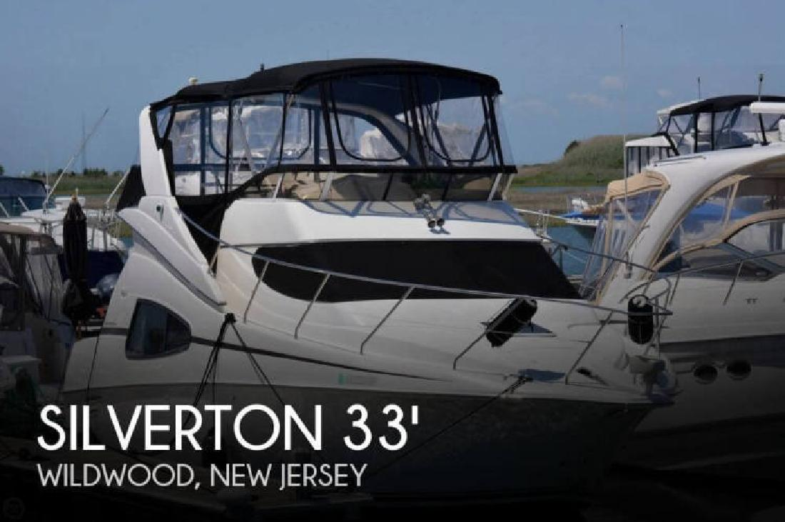 2000 Silverton Marine 330 Sport Bridge Wildwood NJ