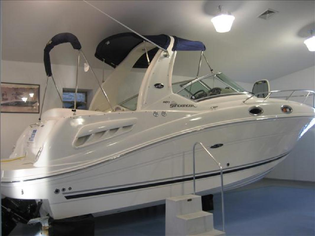 2008 26' Sea Ray Sport Cruiser 260 Sundancer