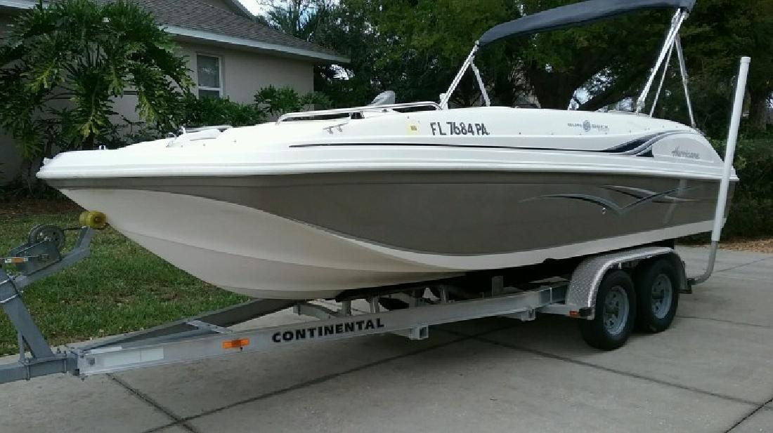 2010 Hurricane 188 Sun Deck Sport in Clermont, FL