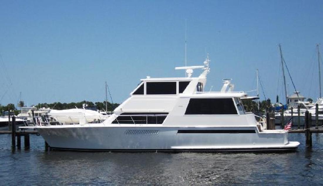 2000 Viking Boats 60 Cockpit Sport Yacht Stuart FL