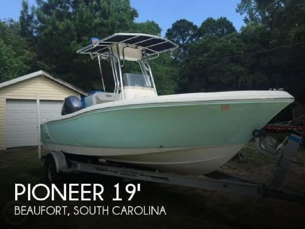 2015 Pioneer 197 Sportfish Beaufort SC