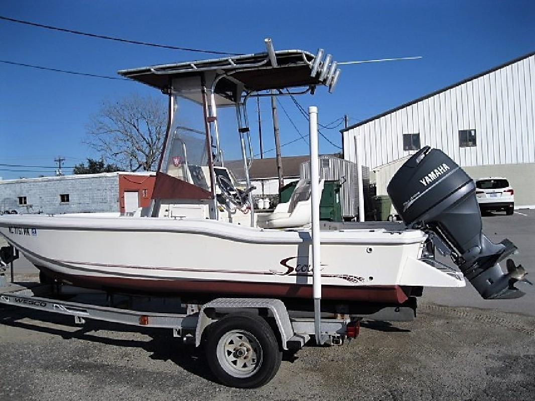 2001 - Scout Boats - 172 Sportfish in Morehead City, NC