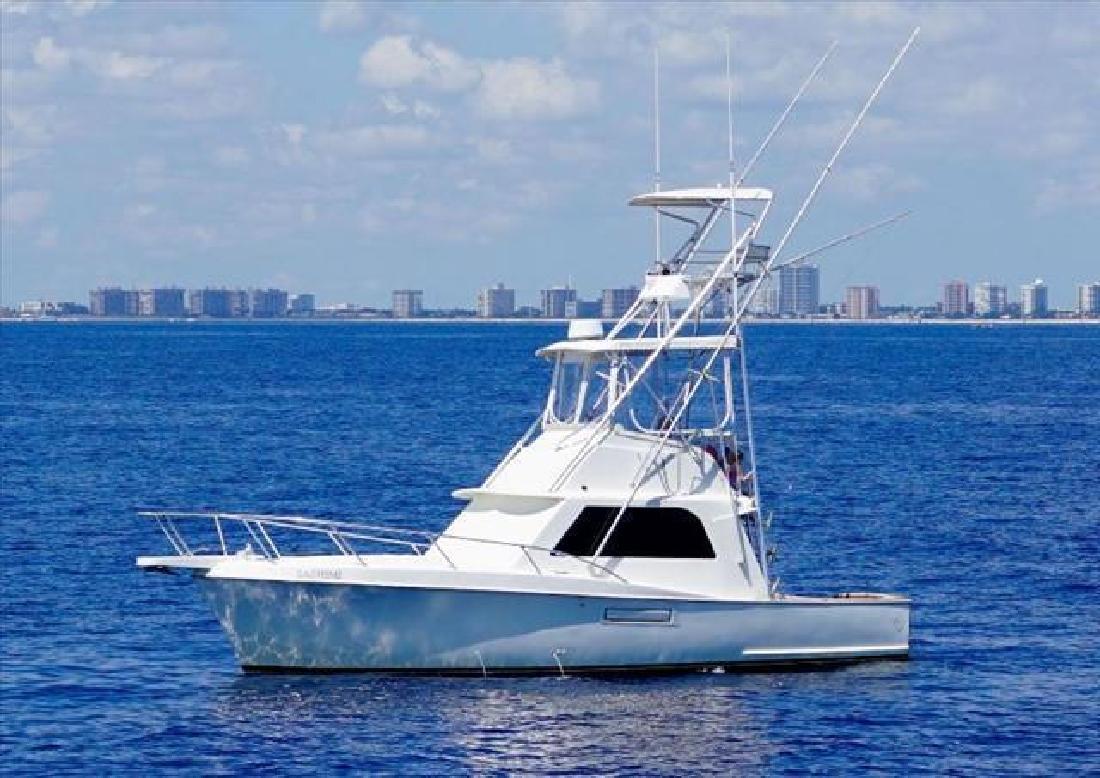 1966 Hatteras Yachts 34 Express Sportfish Pompano Beach FL