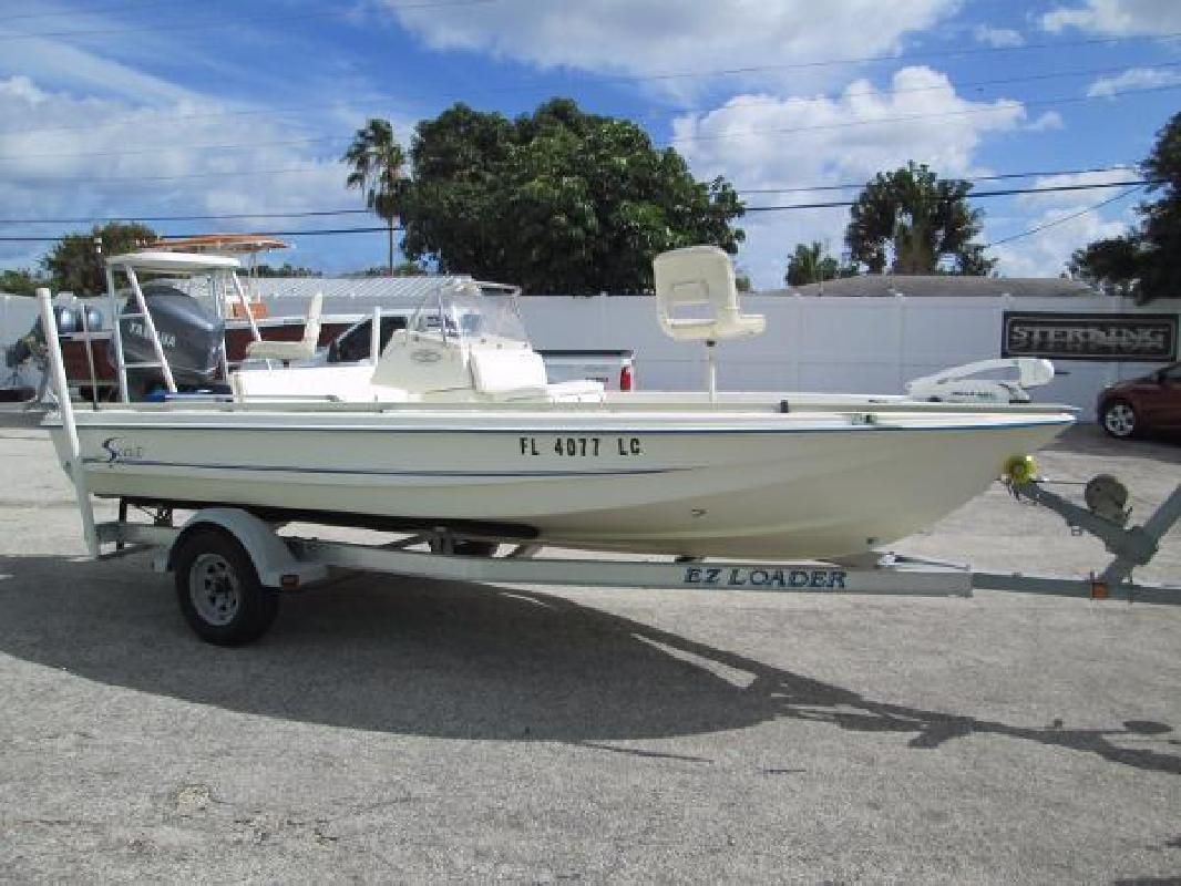 2000 Scout Boats 192 Sportfish Stuart FL