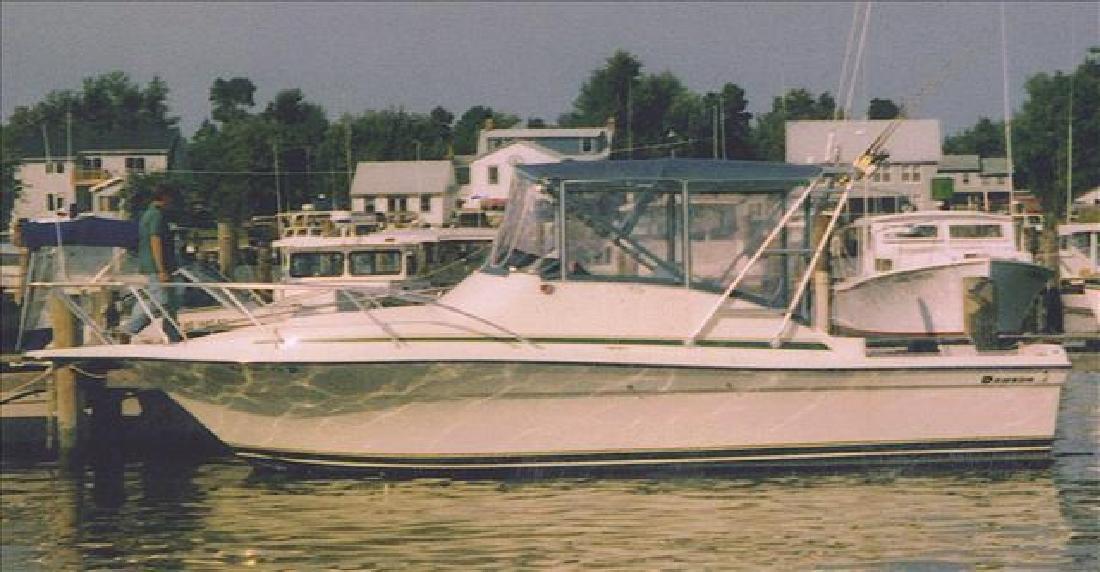 1996 29' Dawson Yachts Sportfisherman 29 Open Sportfisherman