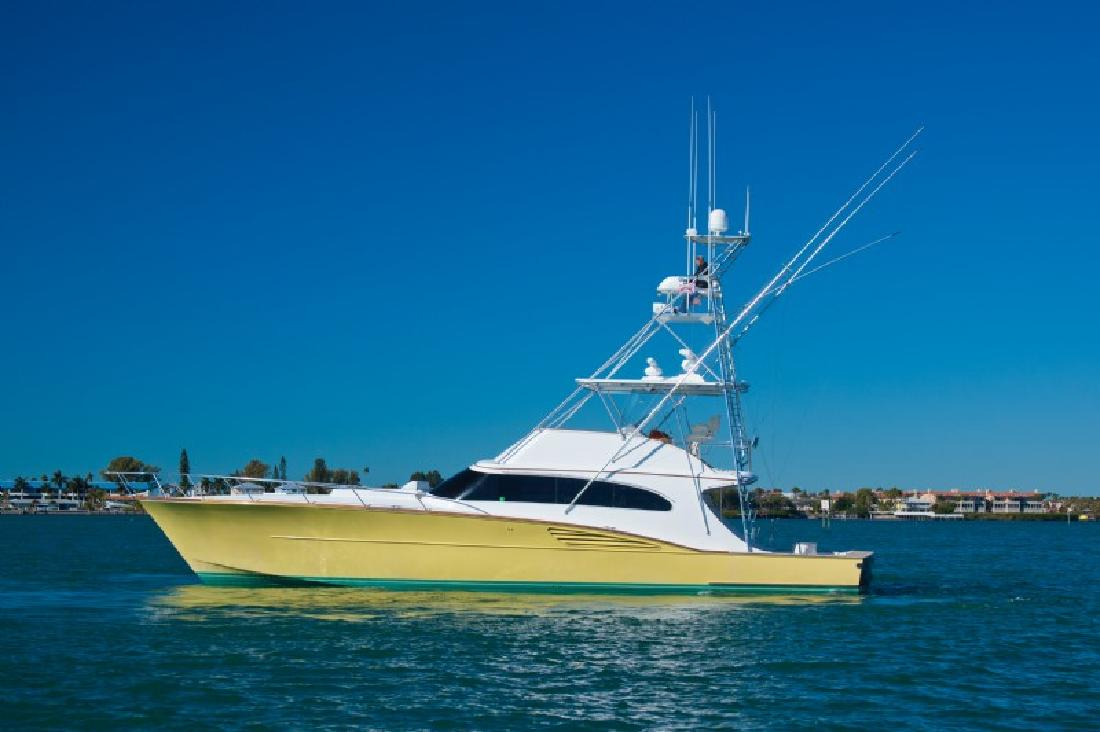 2000 61' Garlington Sportfisherman CV