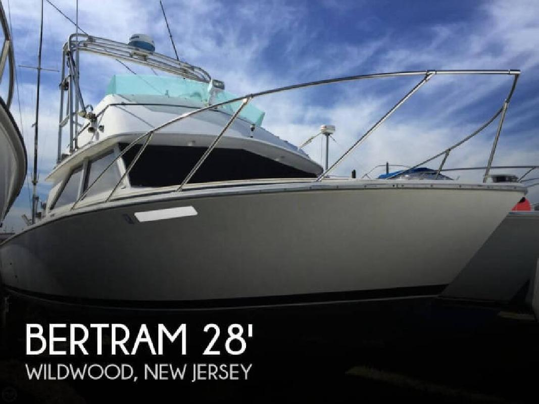 1977 Bertram Yacht 28 Sportfisherman Wildwood NJ