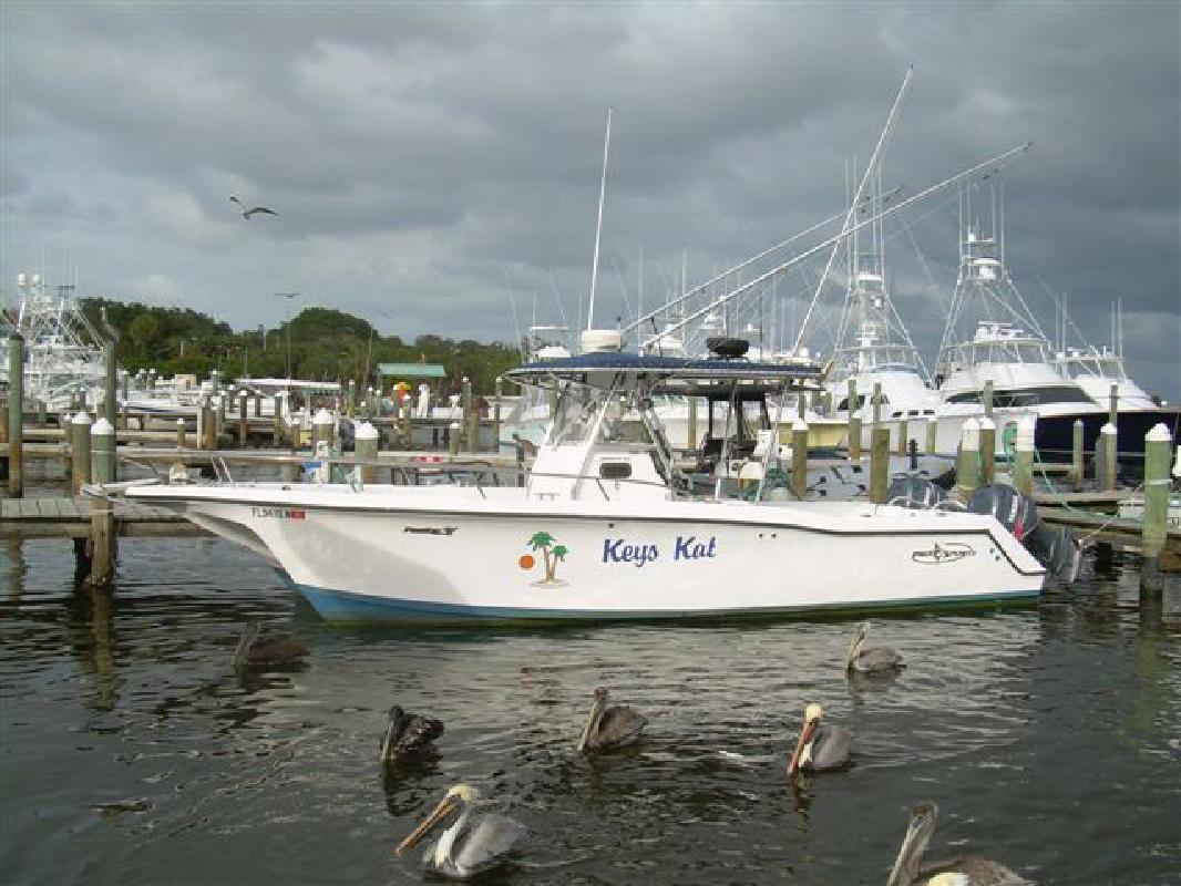 2001 28' Pro Sports Boats Catamaran
