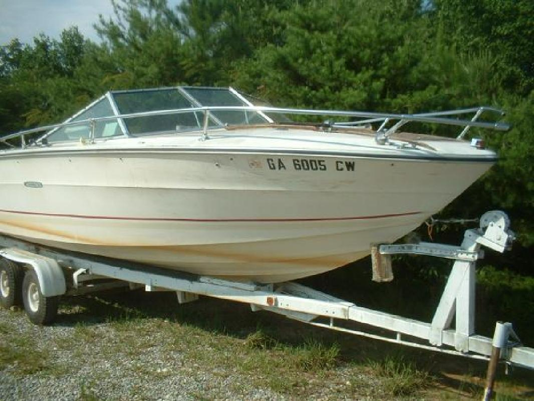 1974 20' Sea Ray SRV 200 Runabout Mercruiser