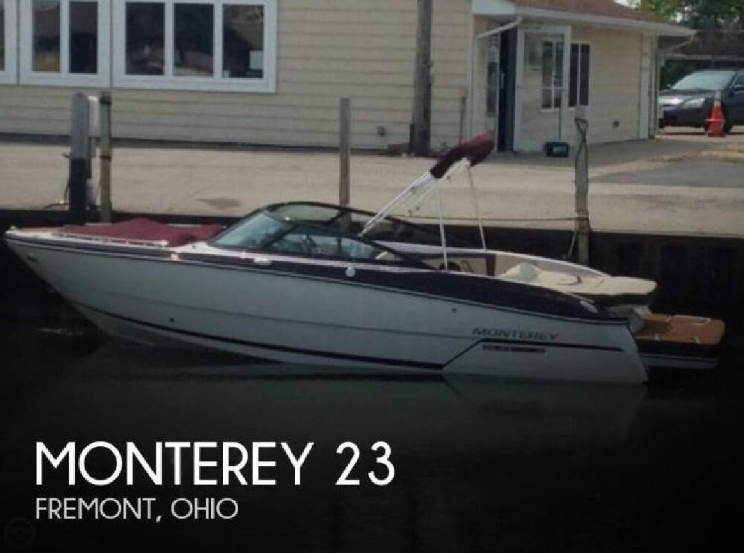 2015 Monterey Boats 238 SS Fremont OH
