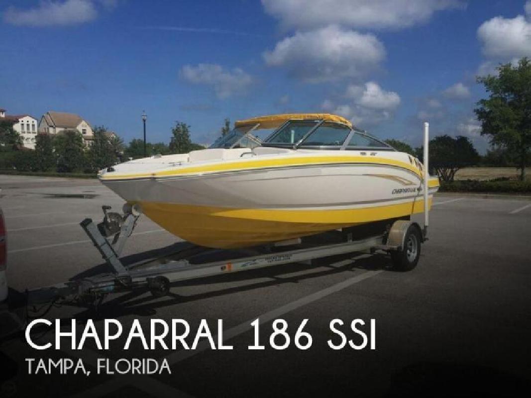 2011 Chaparral Boats 186 SSi Tampa FL
