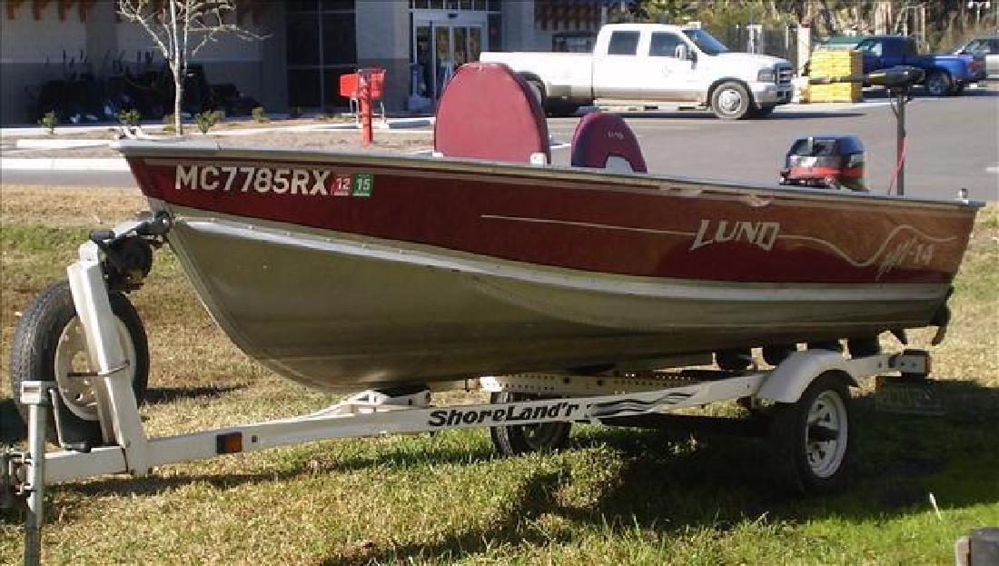 2000 Lund Boats SSV SSV-14 Bluffton SC