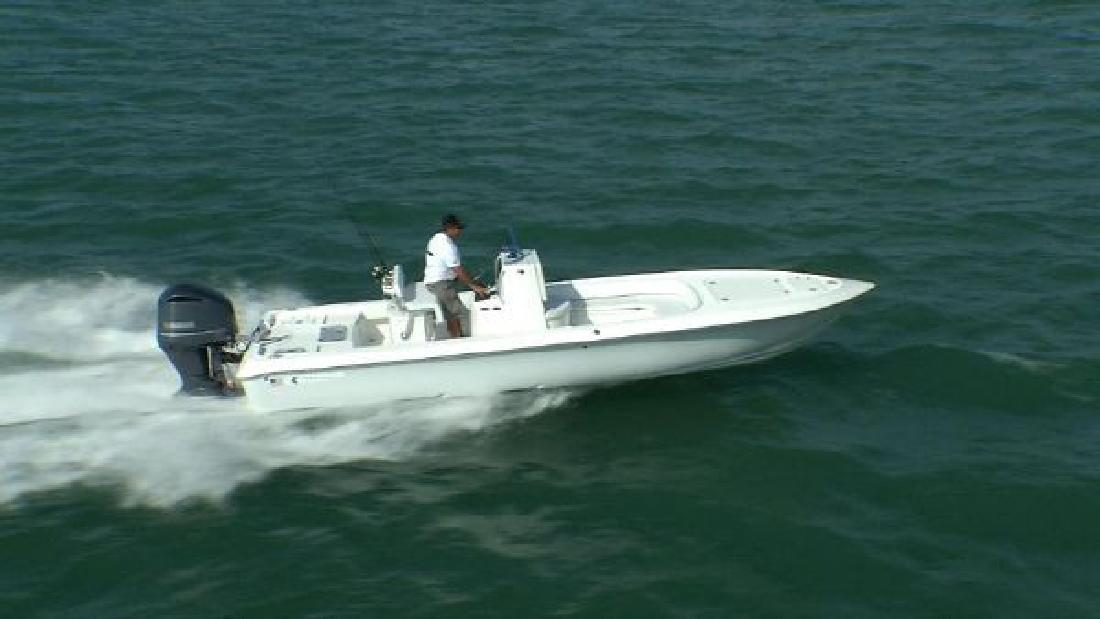 2012 25' Contender 25 St Bay Boat