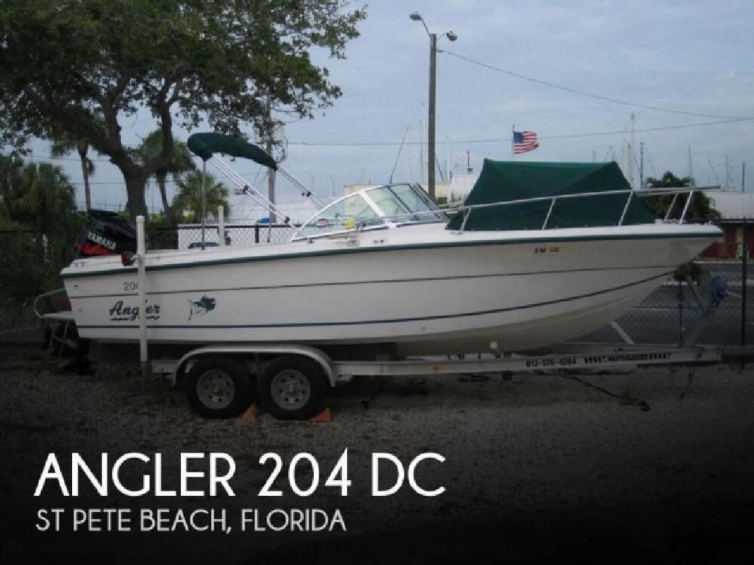 1997 Angler Boats 204 DC St Pete Beach FL