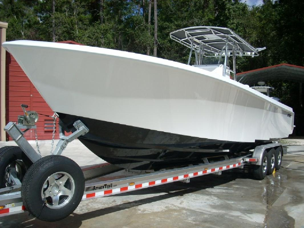 2012 34' Contender 35 St Step Hull