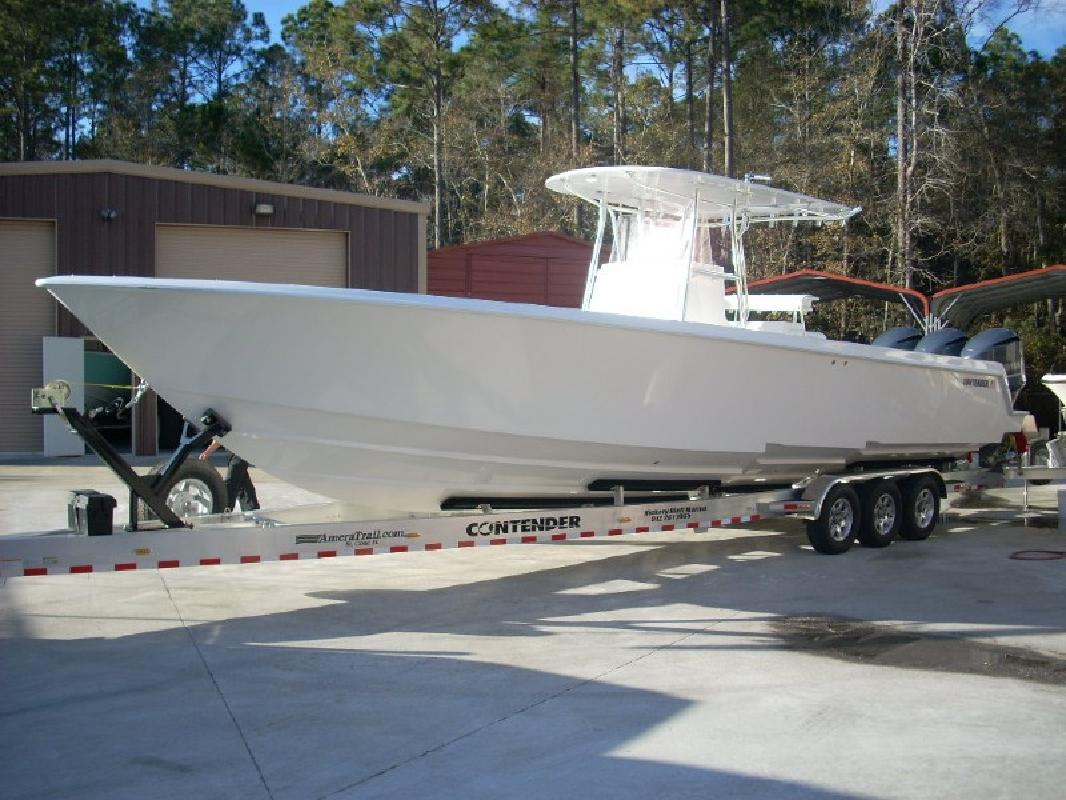2012 39' Contender 39 St Step Hull