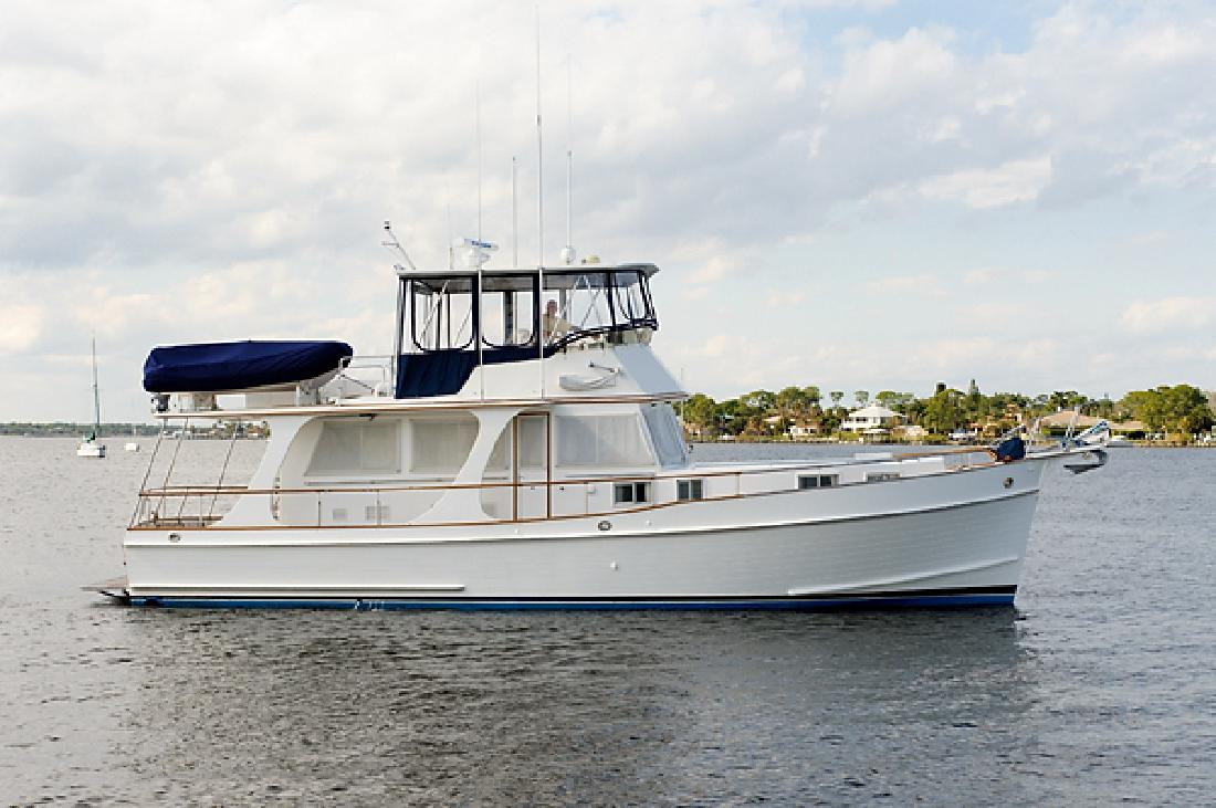 1997 46' Grand Banks Europa Stabilized Bow Thruster Hardtop in Charleston, ...