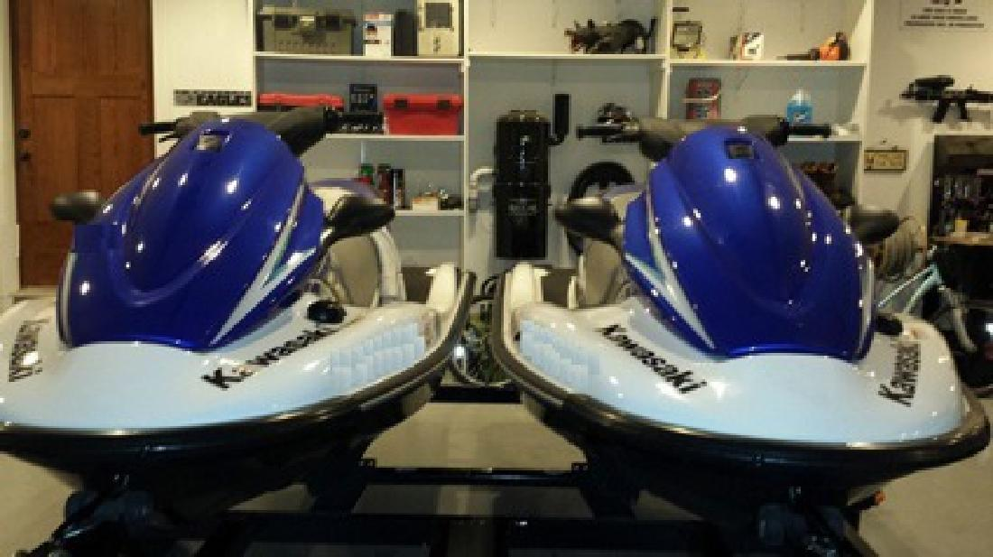 $3,100 Two 2012 Kawasaki Waverunners STX-15 Runs Good