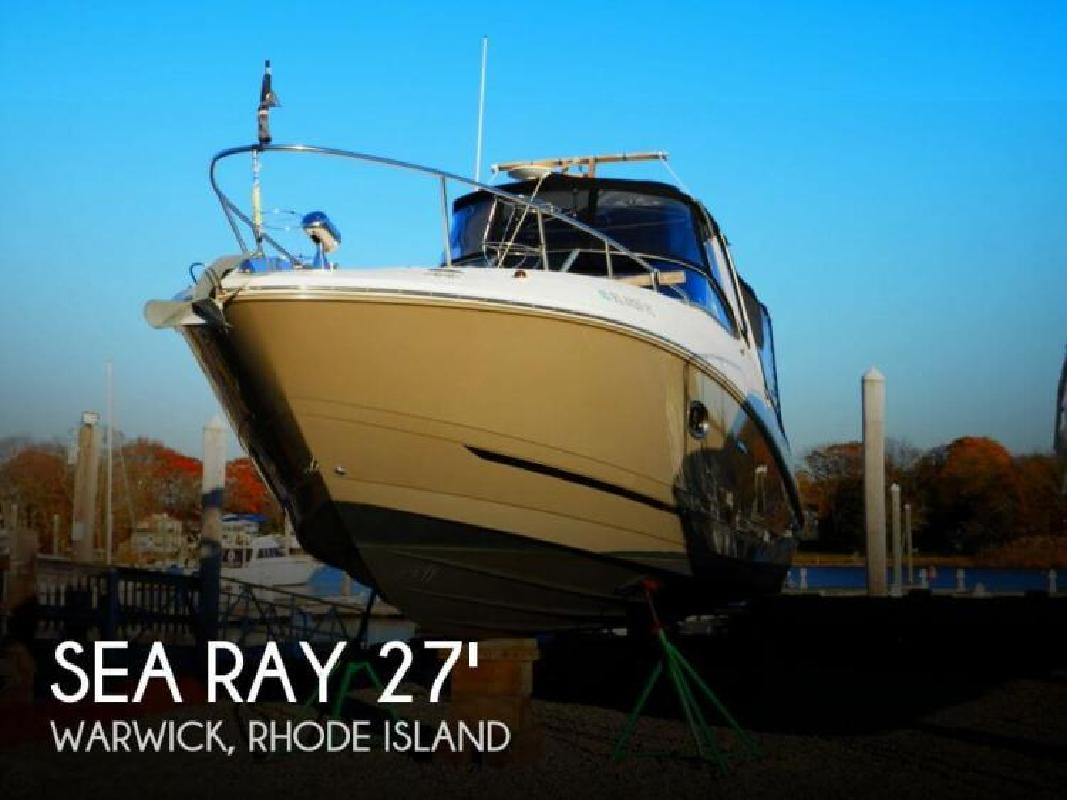2009 Sea Ray Boats Sundancer 270 Warwick RI