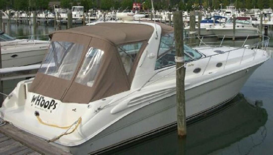 1997 40' Sea Ray 400 Sundancer (3116 CAT Diesel)